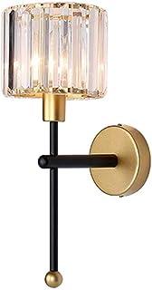 MZStech E14 Moderne Minimaliste Style Applique Murale Lampes Éclairage, Applique En Cristal Transparent, Appliques Murales...
