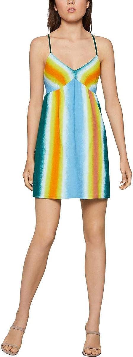 BCBGeneration Women's Faded Stripe A-line Dress