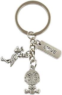YCEOT Hanger Diy Handgemaakte Bedels Mannen Auto Sleutelhanger Wen Sleutelhanger Sieraden Souvenir Voor Gift
