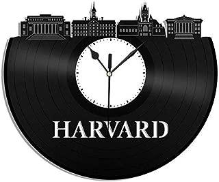 Ayzr Harvard Vinyl Wall Clock University College Retro Decor