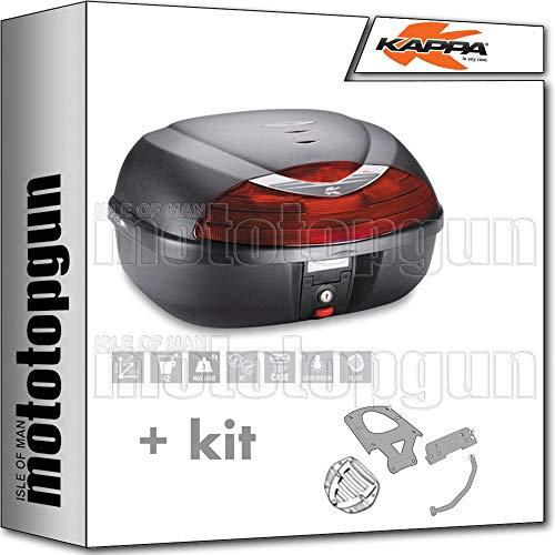 KAPPA MALETA K42N 42 LT + PORTAEQUIPAJE MONOLOCK COMPATIBLE CON HONDA NT 700 DEAUVILLE 2011 11