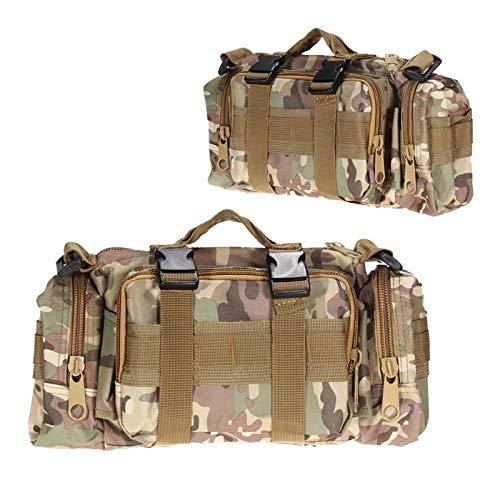 ETXP Bolsa táctica al aire libre para cinturón militar Molle bolsa cartera para acampar al aire libre kits de bolsas de ayuda kit de supervivencia para correr, senderismo, viajes y vacaciones.