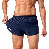 NAVISKIN Pantalones Cortos para Hombres Shorts Deportivos de