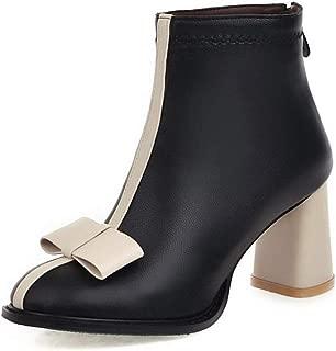 BalaMasa Womens ABS14164 Pu Boots