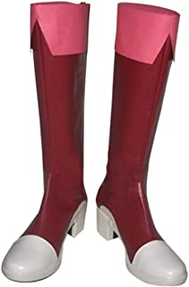 DUNHAO COS Anime Fairy Tail Wendy Marvell Cosplay School Custom Shoes Boots
