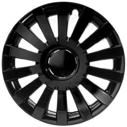 4Tapacubos Tapacubos tipo Wind Black Negro Apto Para Chrysler 13pulgadas Llantas de...