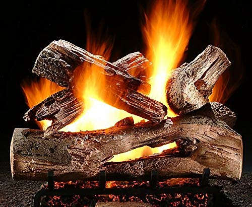Affordable Hargrove 60'' Single Side Ember Supreme Mountain Timber Log Sets - Log Only