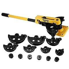 BananaB Manual Pipe Bending Set 10-25 mm 3/8 tot 1 INCH Pipe Bending Machine Manual Pipe Pipe Tube Bender set (10-25 mm)*