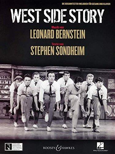 West Side Story (D): Die bekanntesten Melodien. Gesang und Klavier.