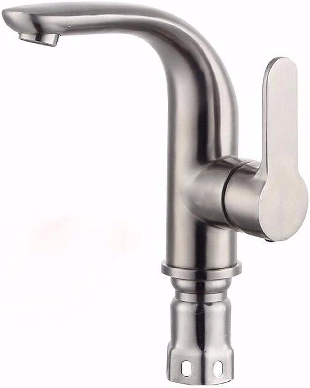 ETERNAL QUALITY Bad Waschbecken Wasserhahn Küche Waschbecken Wasserhahn Warm- Und Kaltdrahtziehen Aus Edelstahl Bleifrei Waschtischmischer BEG2638