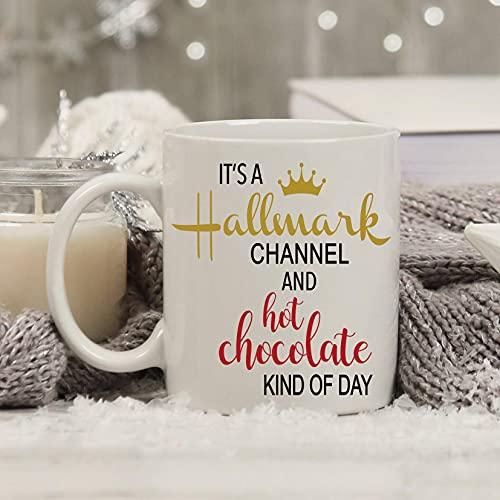 N\A Es una Taza de Hallmark Channel y una Taza de Chocolate Caliente, una Taza de películas de Hallmark, una Taza para Ver películas, una Taza de café de Hallmark Christmas Movie, una Taza de Navidad
