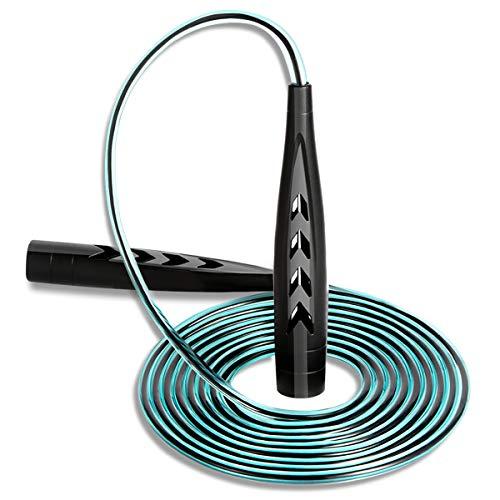 Springseil - Verstellbares Springseil, rutschfest, Fitness, Bewegung, Fettverbrennung, geeignet für Männer und Frauen.