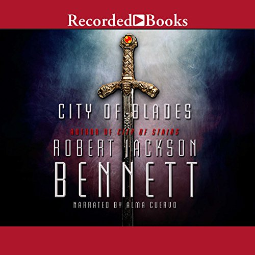 City of Blades audiobook cover art