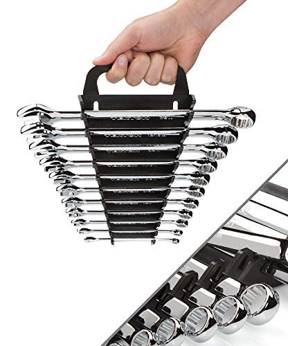 TEKTON Combination Wrench Set, 9-Piece (1/4-3/4 in.) - Keeper   18765