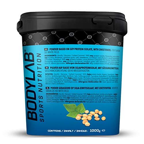 Bodylab24 Soya Protein Isolat Vanille, 1er Pack (1 x 1000g) - 4