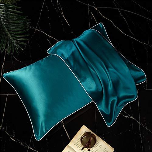 DCGSADFW 100% zijde kussensloop Single Side 100% zijde kussensloop Zijde Bevat aminozuur om de huid te voeden en te verlichten fijne lijntjes. Meer comfortabele slaap DCGSADFW