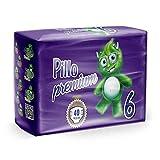 Pillo Premium Junior, Taglia 6 (15-30 Kg), 40 Pannolini