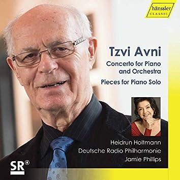 Tzvi Avni: Piano Works