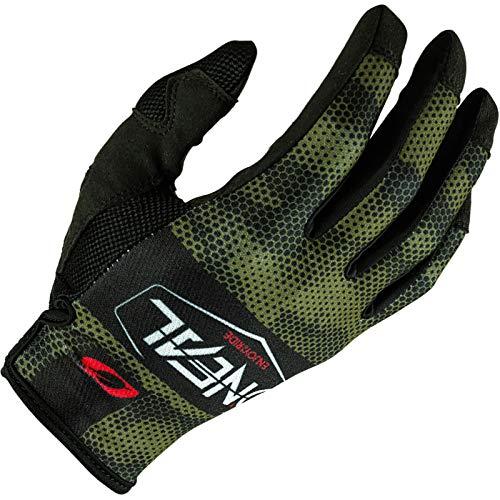 O'NEAL | Fahrrad- & Motocross-Handschuhe | MX MTB DH FR Downhill Freeride | Langlebige, Flexible Materialien, belüftete Nanofront-Handpartie | Mayhem Glove | Erwachsene | Schwarz Grün | Größe XL