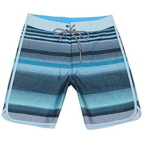 YHXY Herren Badehose Boardshorts Strandhose Schwimmen wasserdichte Quick Dry Surfing Boardshorts