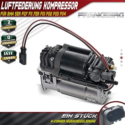 Luftfederung Kompressor Luftregulierung für 5er F07 F11 518 520 523 525 528 530 535 550 M550 7er 730 740 750 760 2009-2016