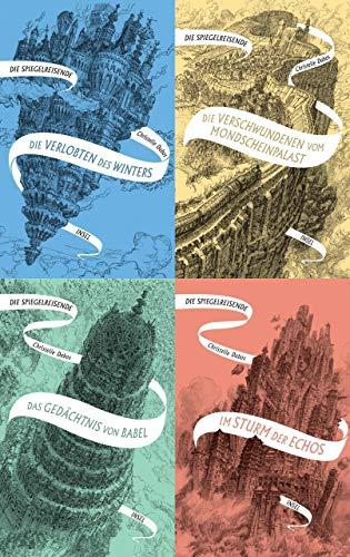 Die Spiegelreisende Band 1-4 + 1 exklusives Postkartenset
