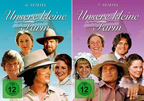 Unsere kleine Farm - Die komplette 6. + 7. Staffel (12-Disc / 2-Boxen)