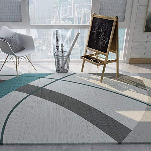 MEIDEL Calidad Alfombra Lana 190x240cm Soft Fluffyfibra lujosas alfombras Estilo Vintage salón, SV-JQ177