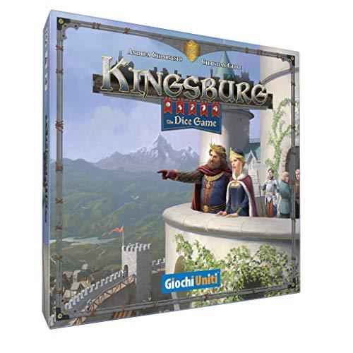 Giochi Uniti- Kingsburg - The Dice Game, Mehrfarbig, GU642