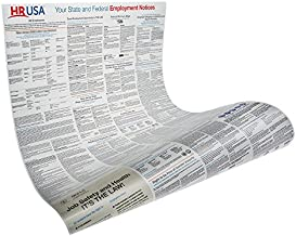 Florida and Federal Labor Law Poster - Laminated