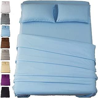 blue king sheet set