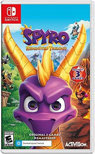 Spyro Reignited Trilogy Nintendo Switch Standard Edition