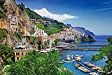 Ingooood - Jigsaw Puzzle 1000 Pieces- Positano- IG-0508- Entertainment Recyclable Materials Plastic Puzzles Toys