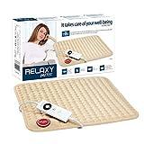 Imetec Relaxy HP-05 Almohadilla Elèctrica Térmica para Espalda, Hombros, Barriga y Piernas, Mando Digital, 5 temperaturas,...