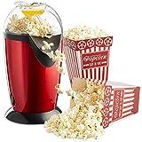 SHOPECOM Electric Household Kitchen Popcorn Maker Machine (Multicolour)