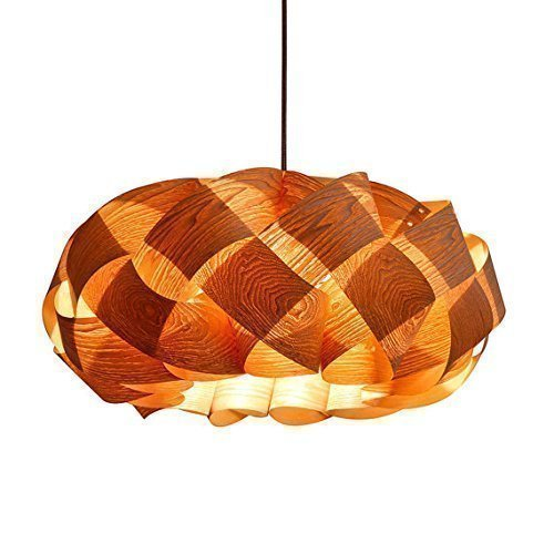 Handmade Wood Braids Hanging 3-Light Pendant Lamp! made of Chinese ash wood veneer,Handmade wood pendant lamp, dining lamp,bedroom,design lamp, ceiling lamp, hanging lamp