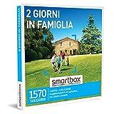 smartbox - Cofanetto Regalo - 2 Giorni in Famiglia - Idee Regalo - 1 Notte con Colazione per 2 Adulti e 2...
