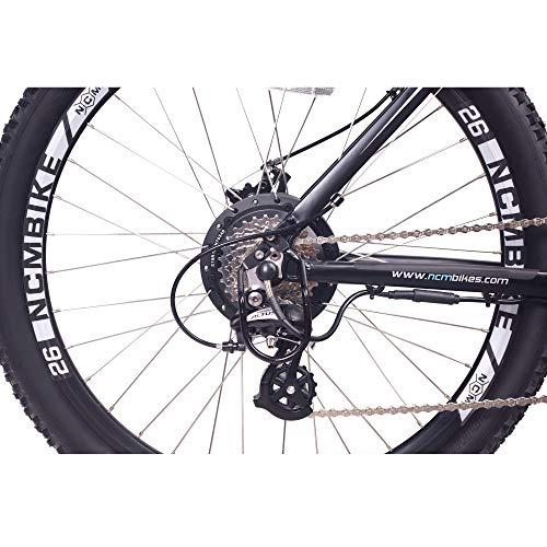 Prague Electric Mountain Bike 468Wh 36V/13AH Matte Black 26'