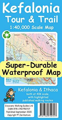 Kefalonia Tour & Trail Map