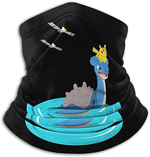 Multifunctionele halsdoek voor de winter, halfgelaatsmakelijke E, Chloschaal, Surf Blue Shirt (Poke-Mon Go), sporthoofdband, warmer voor dames en heren