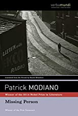Image of Missing Person by Patrick. Brand catalog list of David R Godine Publisher.