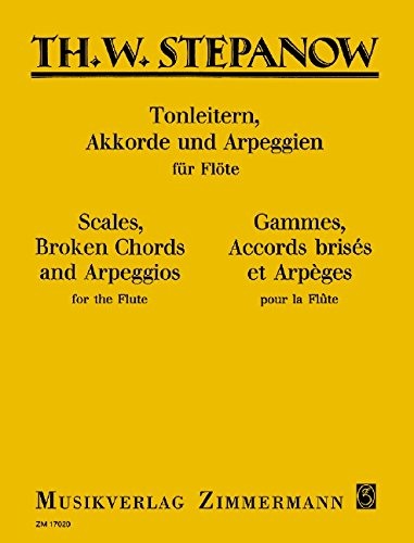 Tonleitern, Akkorde und Arpeggien: Flöte.
