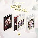 JYP Entertainment Twice - More & More (9th Mini Album) Album+Pre-Order Benefit+Folded Poster+Extra Photocards Set (B Ver.)