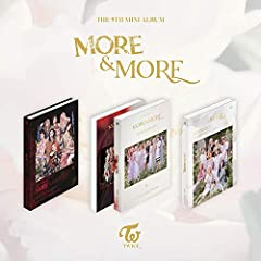 🎈Ships from Korea, Republic of 📆Release Date : 2020.06.02 🎵CD (Random 1 out of 9) + 88p Photobook + More Postcard + Coaster Card (Random 1 out of 9) + 5 Photocards (Random 5 out of 100) + Double-Side Extra Photocards Set (KPOP MARKET Store Gift) 📌100...