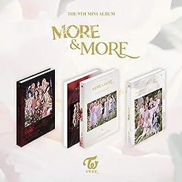 JYP Twice – More & More (9th Mini Album) Album+Extra Photocards Set (C ver.)