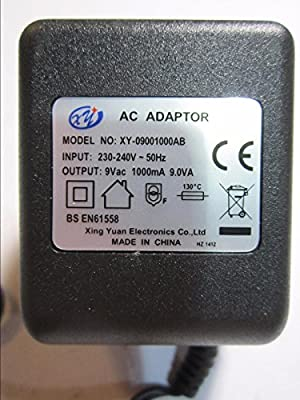 9V Mains AC-AC Adaptor for Digitech RP250 H-PRO PS0913B 9VAC 1300mA Power Supply