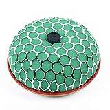 QREAEDZ Filtro de Aire de Esponja Duradero Forma de Hongos con Forma de Esponja Verde (Color : Green)