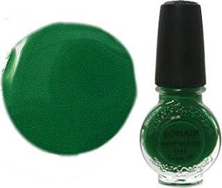 KONAD-Stampinglacksello pintura 10 ml: #08 verde esmeralda