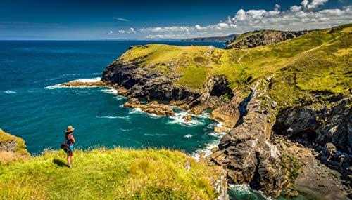 OMGhotels.com 1 nt 4 * Mystery Cornwall Pause mit Frühstück – Geschenk-Erlebnis für zwei Personen