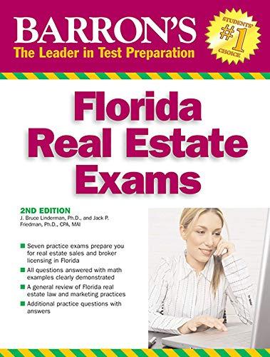 Florida Real Estate Exams (Barron's Test Prep FL)